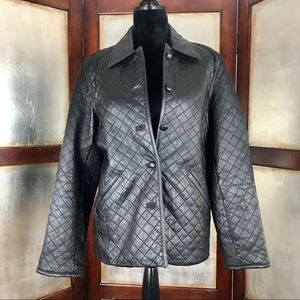 Siena Quilted Leather Jacket